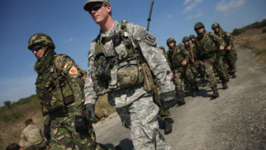 """Rapid Trident"" Military Exercises In Western Ukraine"