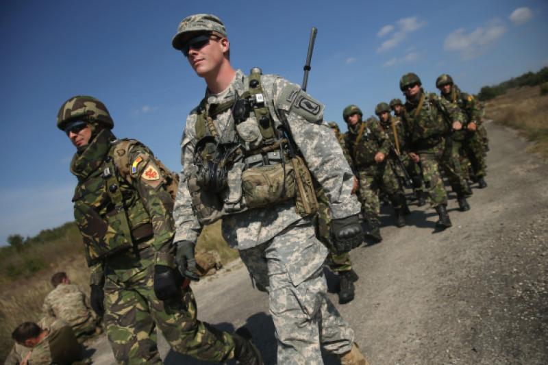 """Rapid Trident"" Military Exercises In Western Ukraine"