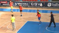 sport antrenament handbal CSM Oradea