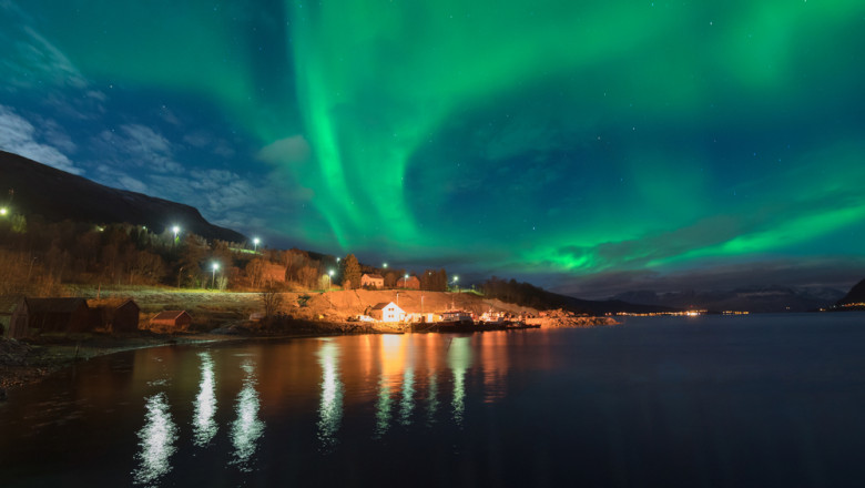 aurora borala, luminile nordului