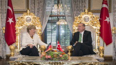 German Chancellor Angela Merkel Visits Turkey