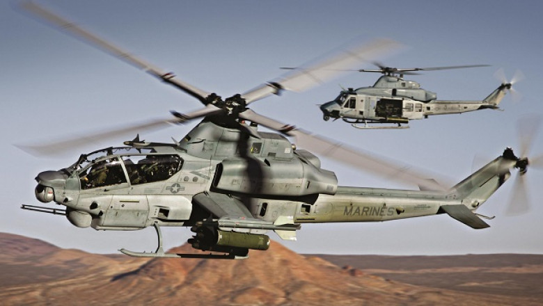 elicoptere bell viper ah-1z uh1y