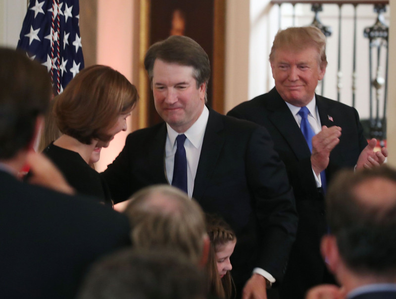 Trump Announces His Nominee To Succeed Anthony Kennedy On U.S. Supreme Court