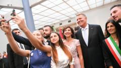 iohannis romani italia presidency