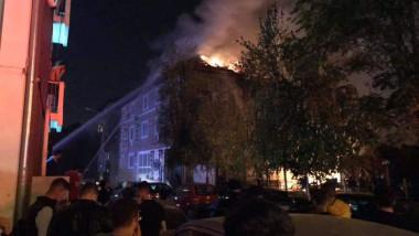 Incendiu complex studentesc Timisoara 181018