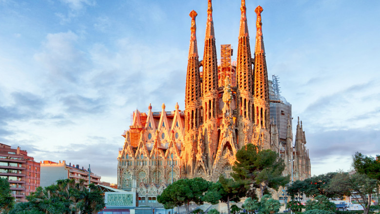 Biserica Sagrada Familia din Barcelona