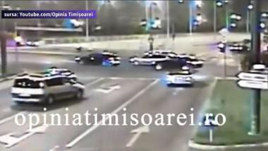 VIDEO. Teribilismul unui tânăr la volanul unui bolid a băgat în spital doi oameni nevinovaţi
