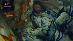 Astronautii din capsula Soyuz in timpul defectiunii la racheta
