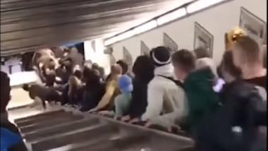 scari rulante metrou