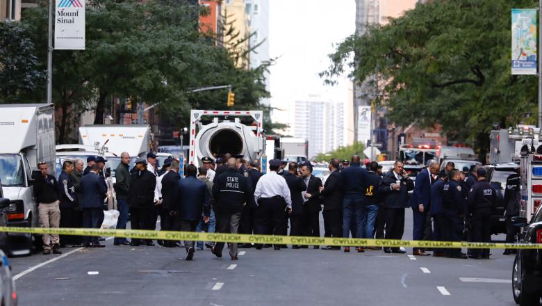 alerte cu bomba in new york