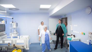 iohannis la spital - presidency
