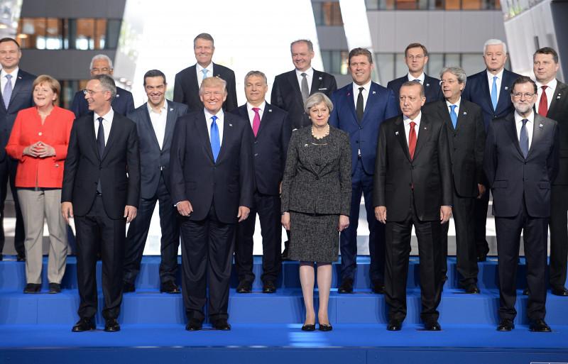 Leaders Meet For NATO Summit