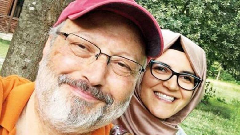 Jamal Khashoggi Hatice Cengiz