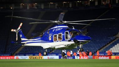 Elicopterul patronului echipei Leicester City s-a prăbușit, în apropiere de stadion