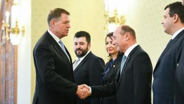 iohannis basescu consultari 17 ian - presidency