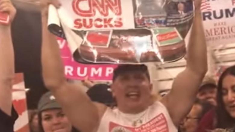 suspect pro trump icon