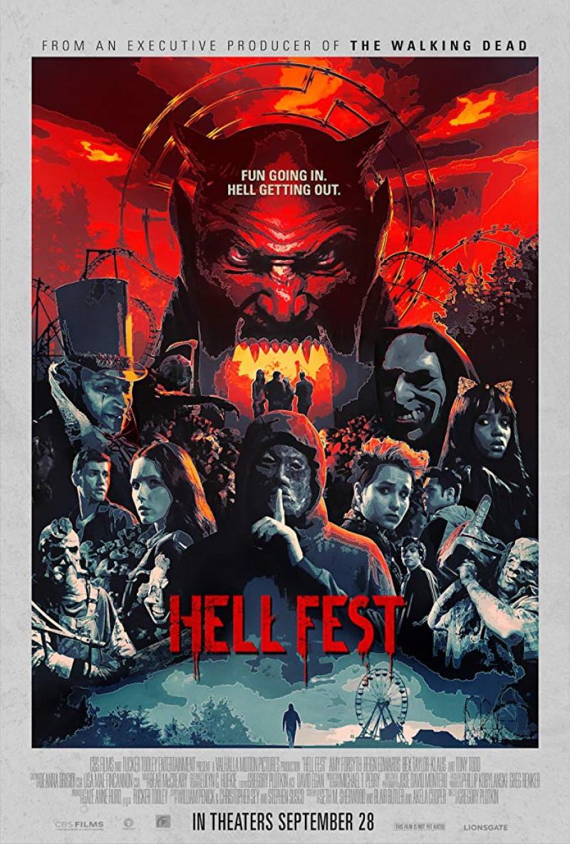 """Filme de groază la cinema de Halloween 2018 - """"Hell Fest"""""""