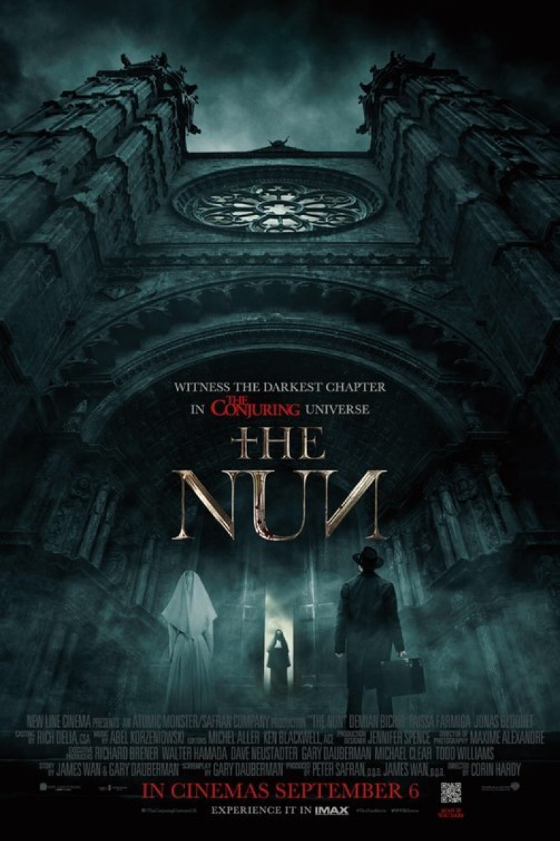 "Filme de groază la cinema de Halloween 2018 - ""The Nun"""