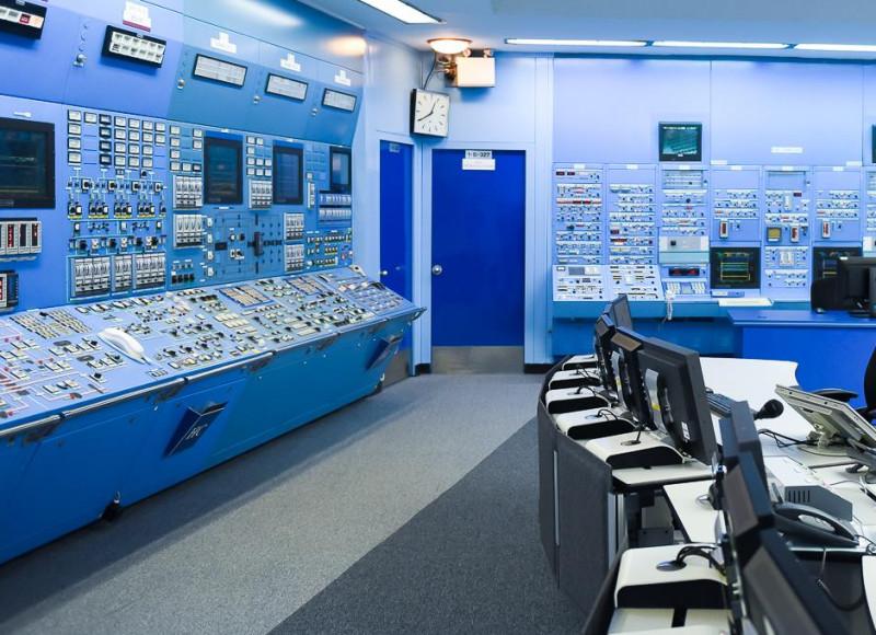 sala de comanda centrala nucleara cernavoda