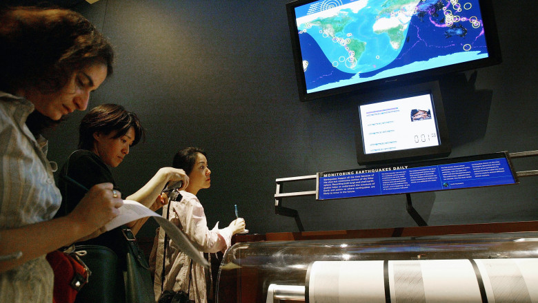 Earthquake Station Monitors Seismic Activity Around The World