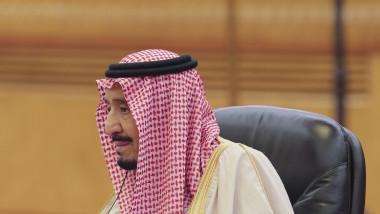 Regele Salman al Arabiei Saudite a fost internat în spital din cauza unei inflamaţii a vezicii biliare
