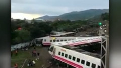 accident de tren in taiwan