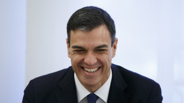 New Spanish Prime Minister Pedro Sanchez Meets President Of Ukraine