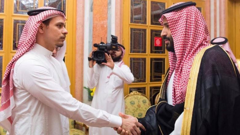 Fiul lui Jamal Khasoggi si printul saudit