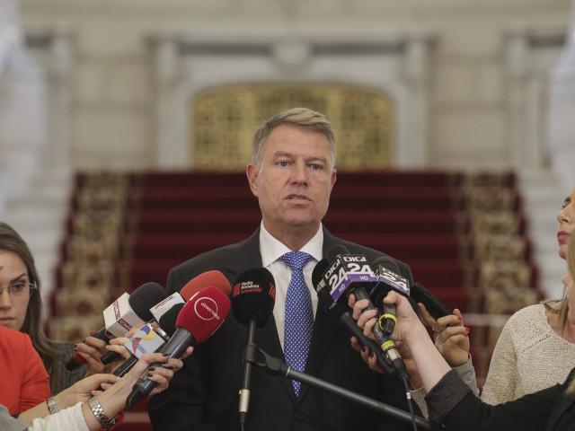 Klaus Iohannis face declarații la ora 13.00