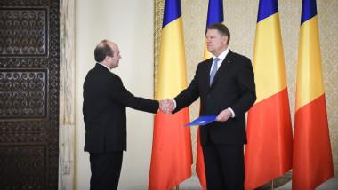 tudorel toader klaus iohannis cotroceni - presidency