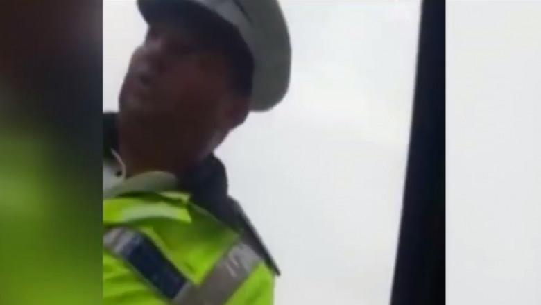 politist amenda din ambitie