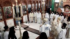slujba biserica Poligiros Grecia_shutterstock_1212013222