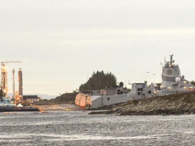 Accident la sfârșitul exercițiului NATO Trident Juncture: un petrolier maltez s-a ciocnit cu o fregată norvegiană