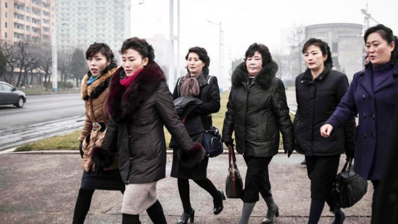 femei coreea de nord