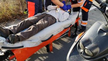 accident scuterist Borsului foto Cristian Abrudan Info Trafic