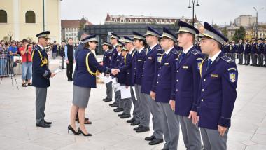 juramant agenti PF Oradea
