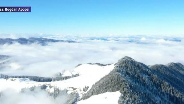 peisaj munte noiembrie