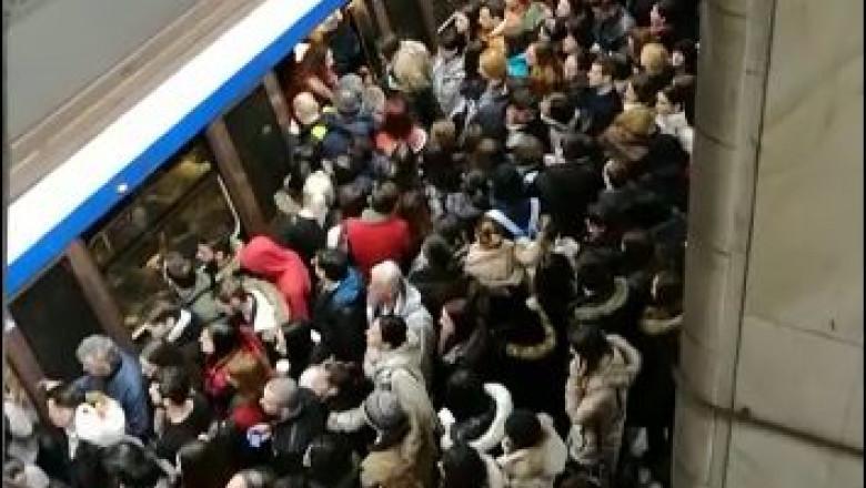 aglomeratie metrou unirii 1