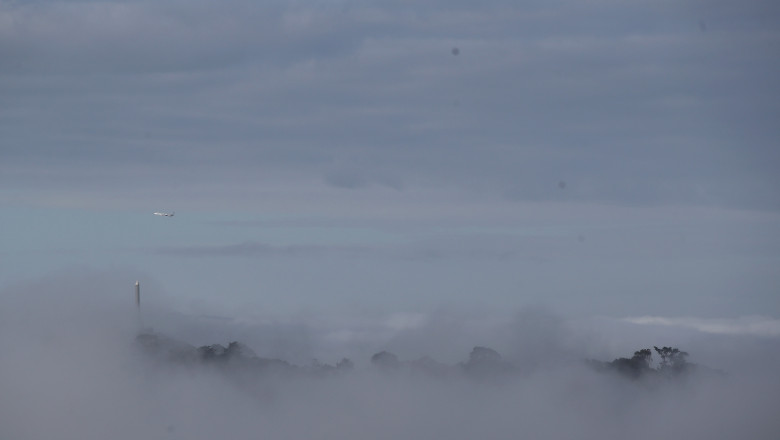 Heavy Fog Lifts But Too Late For Cancelled Domestic Flights In Auckland