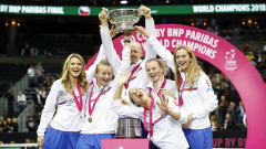 Czech Republic v USA - Fed Cup Final: Day Two