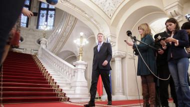 Klaus Iohannis FOTO: Inquam Photos / Octav Ganea