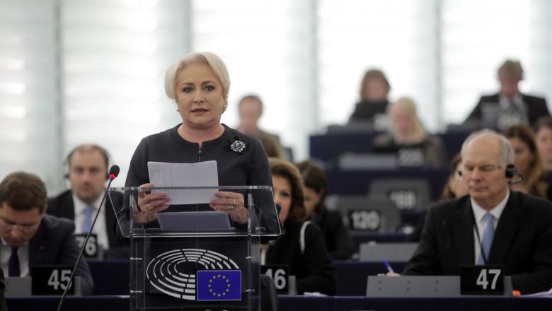 dancila in parlamentul european gov ro
