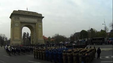 parada arcul de triumf