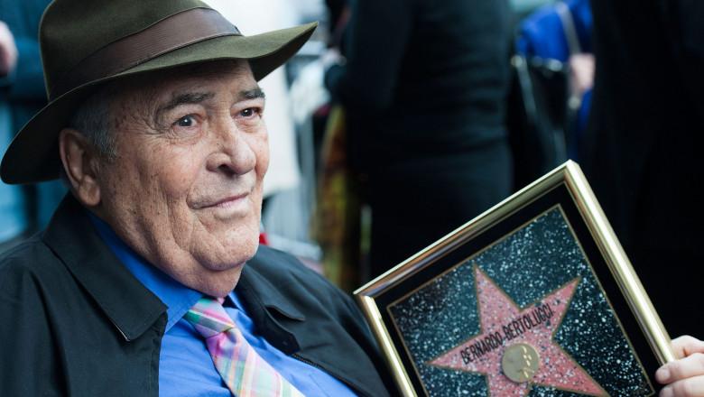 Director Bernardo Bertolucci Celebrates His Star On The Hollywood Walk Of Fame