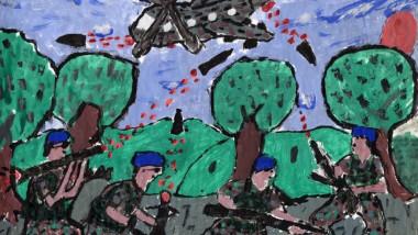 desene copii zone de conflict