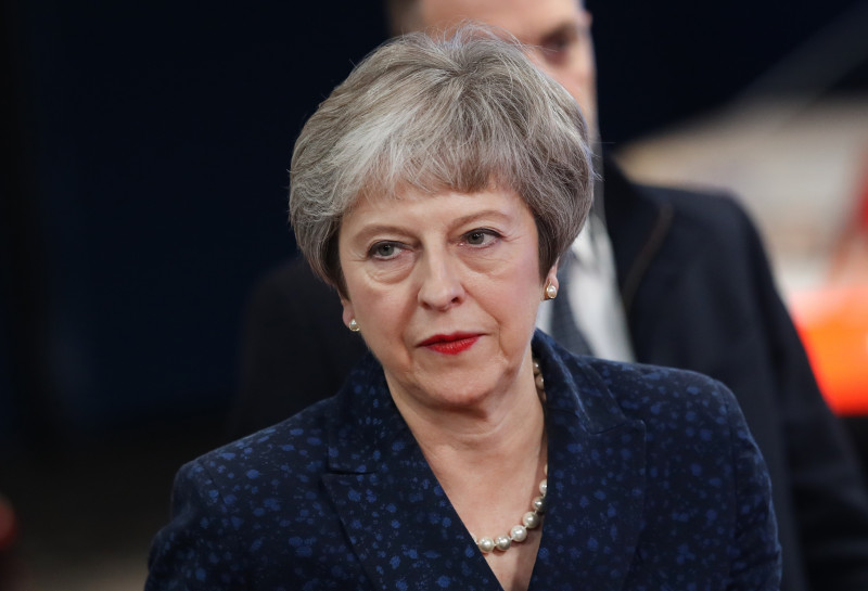 British Prime Minister Arrives In Brussels Ahead Of Brexit Summit