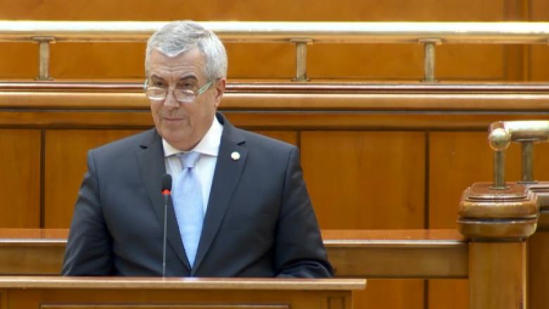 tariceanu parlament