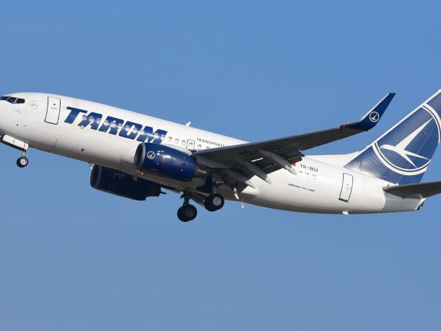 Pilot TAROM, sancţionat de instanţă pentru că ar fi pus viaţa pasagerilor în pericol