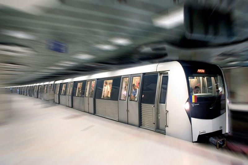 tren de metrou