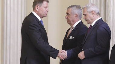 180129_INVESTIRE_FINAL_006_iohannis dragnea tariceanu INQUAM_Photos_Octav_Ganea
